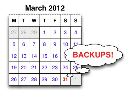 World Backup Day March 2012