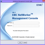 Basics - Customising the NMC login screen