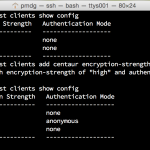 Seeing in-flight encryption with Data Domain and NetWorker at work