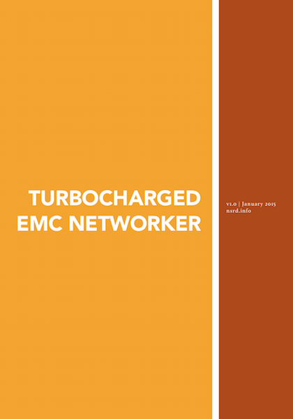 Turbocharged EMC NetWorker