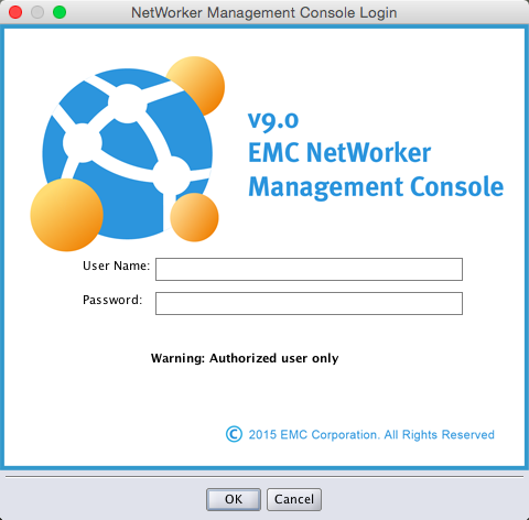 Networker 9 NMC Login