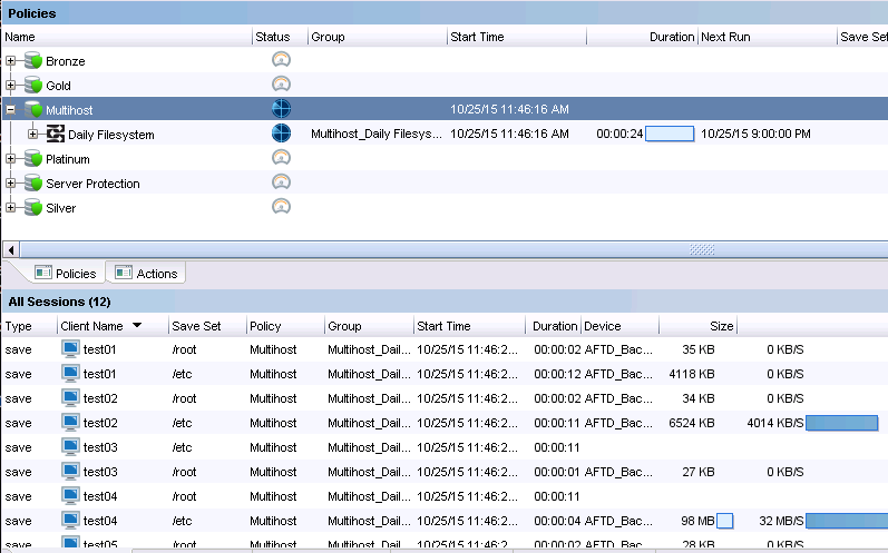 Multihost Workflow Executing Successfully