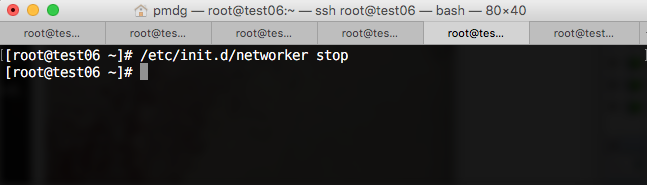 Stopping NetWorker on a Client