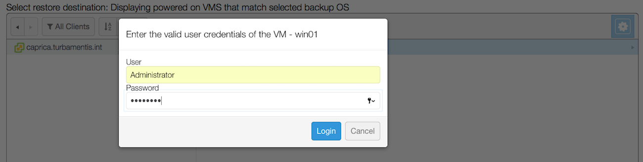 05 Provide Credentials for VM