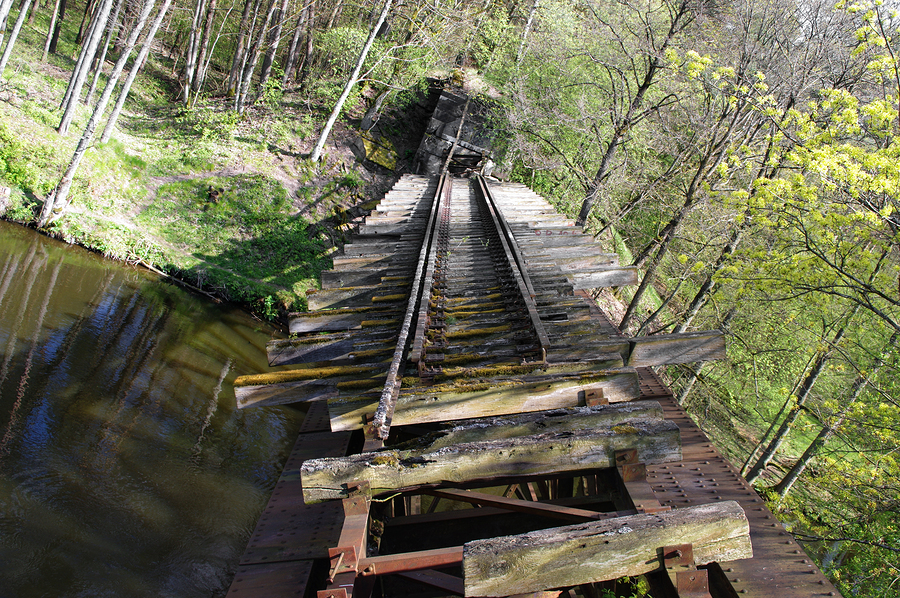 Destroyed Bridge