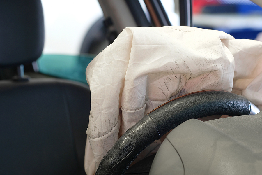 Facial pictures of air bag deploymenttures — img 3