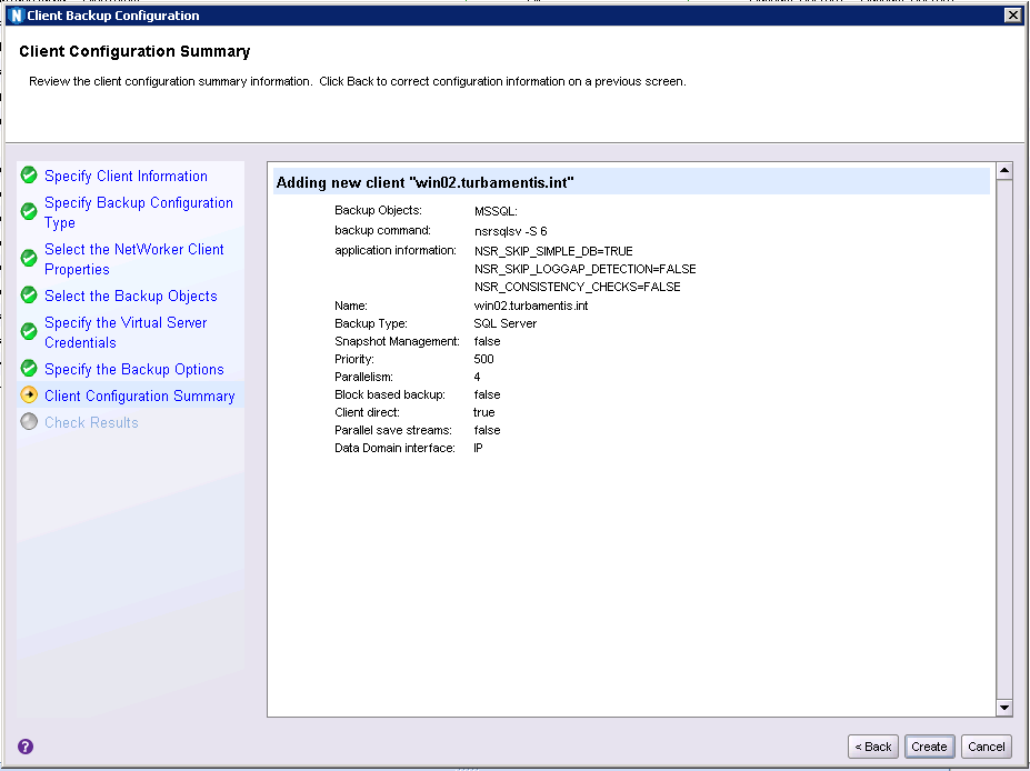 NMM SQL Config 07 – Data Protection: Avamar, NetWorker, Data